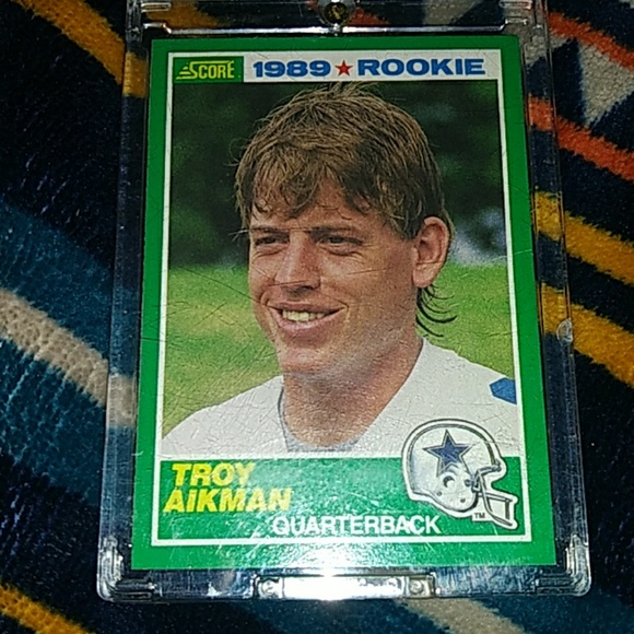 1989 Troy Aikman Rookie Card